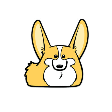 Corgi Loaf Sticker