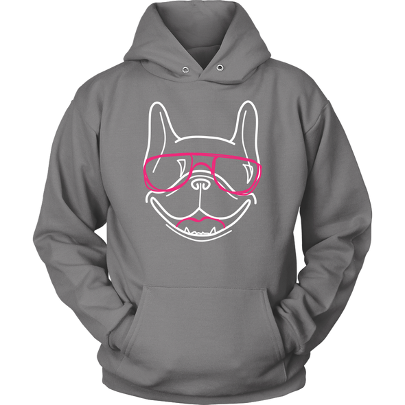 Frenchie Lines Hoodie