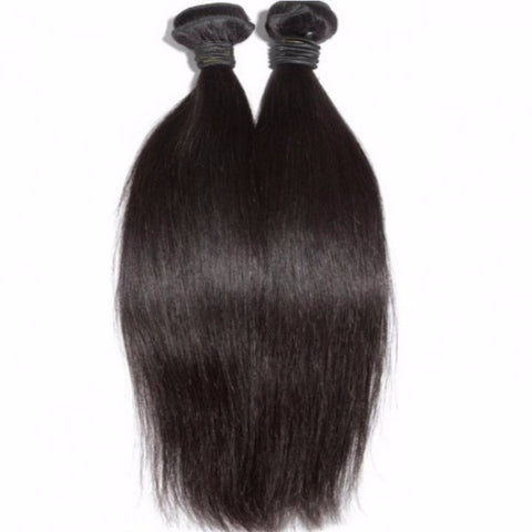 Pressed Straight (Flat Ironed Natural Hair)
