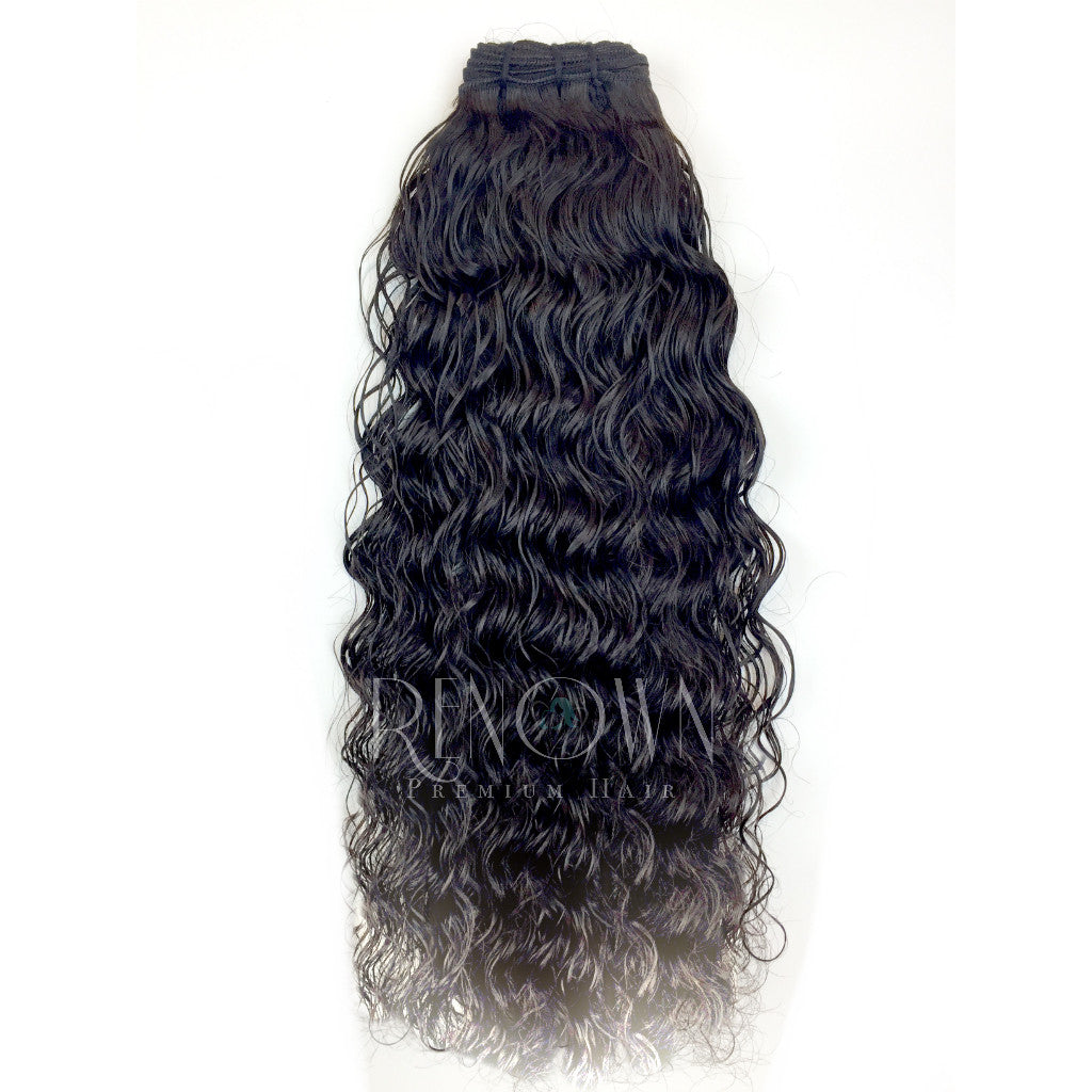 Butt Naked Indian Temple Natural Curl
