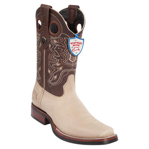 Rodeo Toe Leather Boot WW-281927