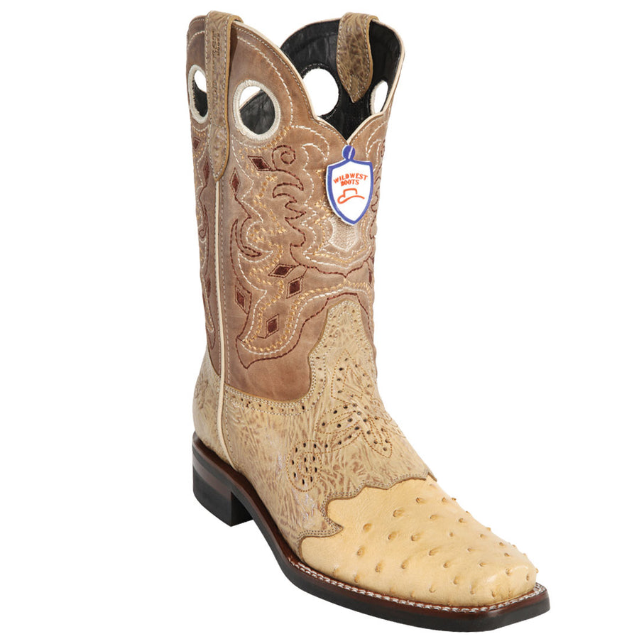 Ostrich Wild Rodeo Toe Boot WWB-281TH03