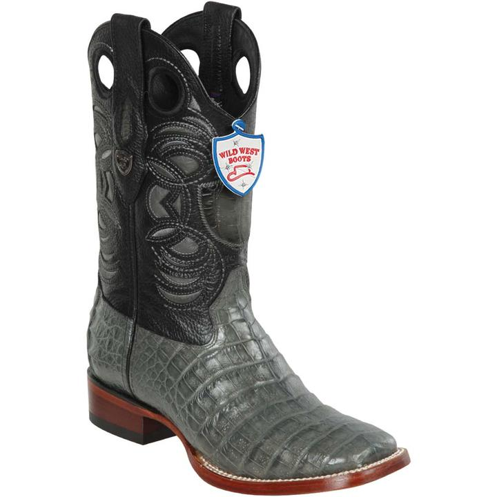 Caiman Belly Wild Ranch Toe Boot WW-282482