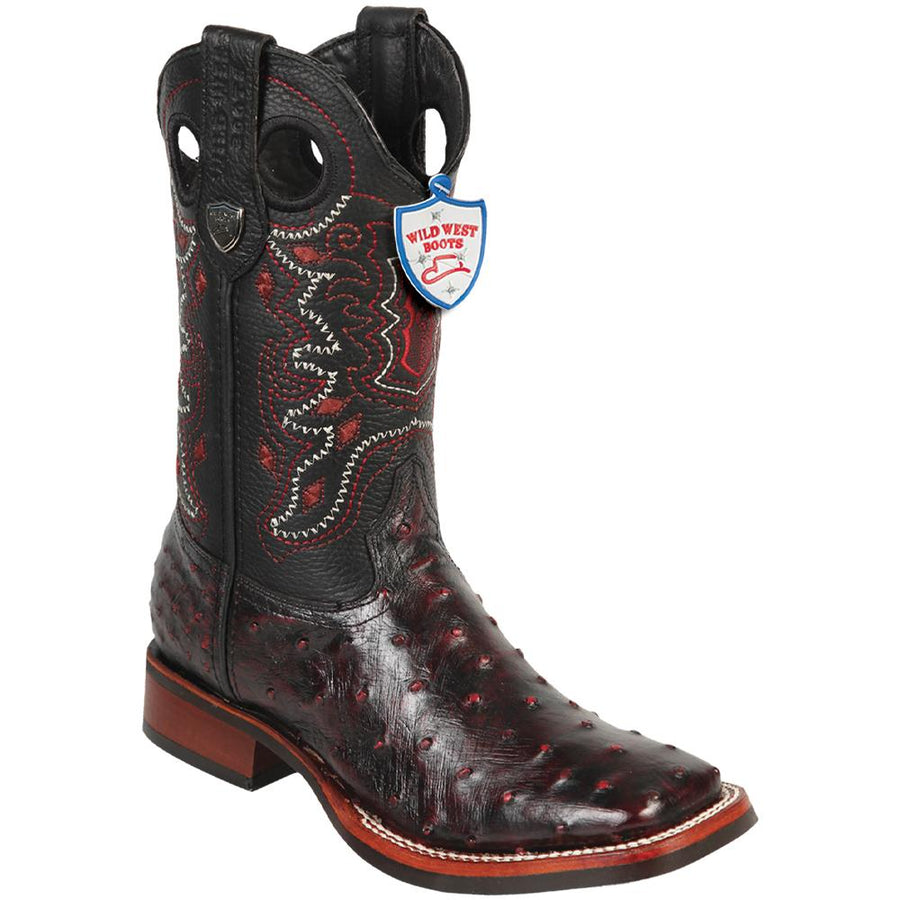 Ostrich Wild Ranch Toe Boot WWB-282503