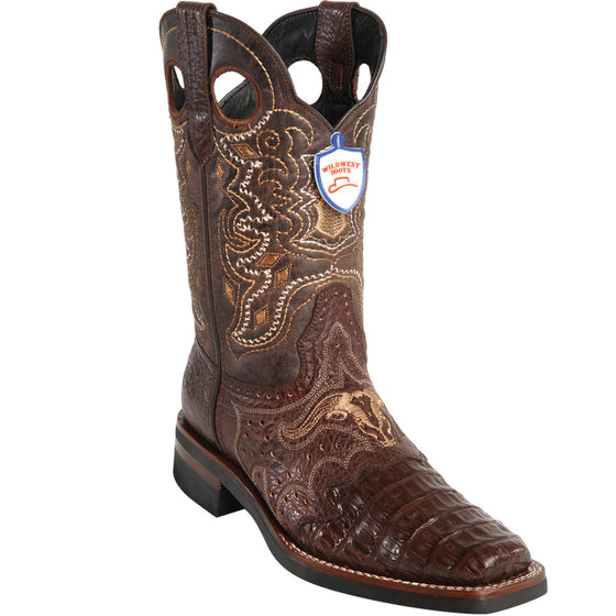 Caiman Belly Wild Rodeo Toe Boot WWB-281TH82