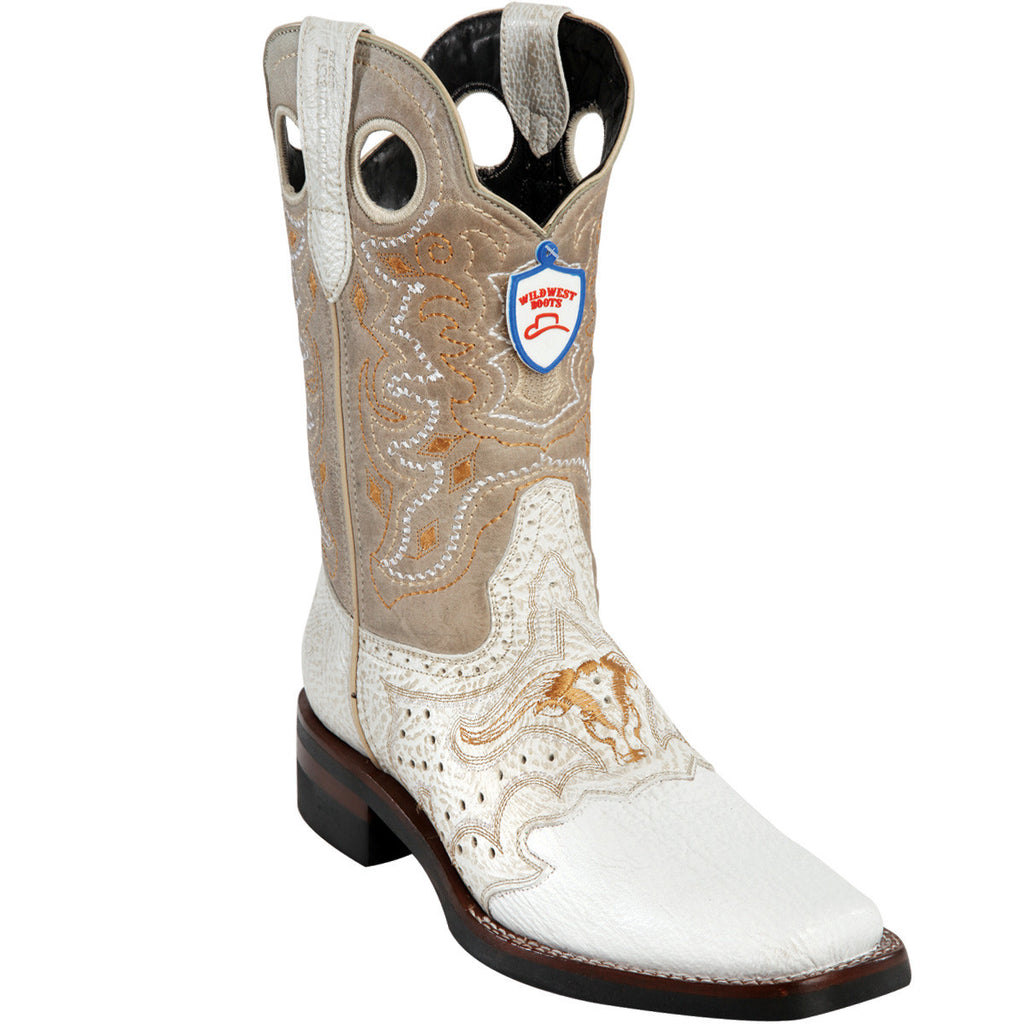 Shark Skin Wild Rodeo Toe Boot WWB-281TH9328