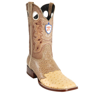 Ostrich Wild Ranch Toe Boot WWB-282TC03