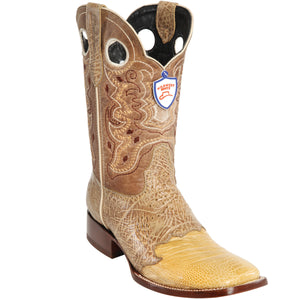 Ostrich Leg Ranch Toe Boot WW-282TC05
