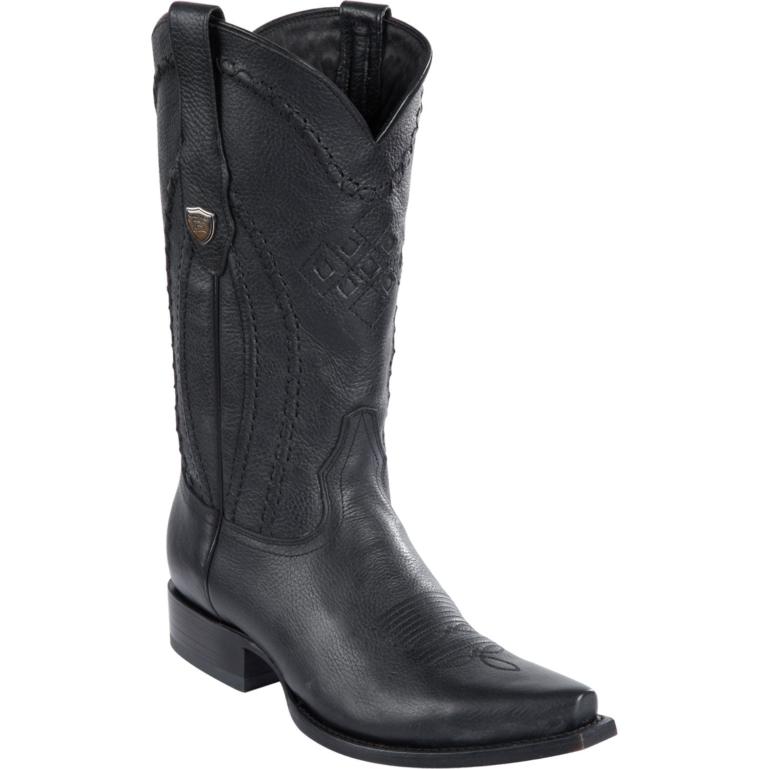 Snip Toe Leather Boot WW-29427