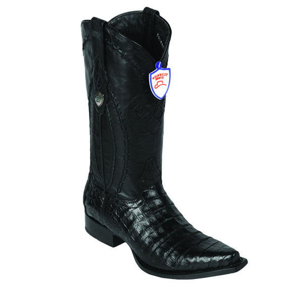 Caiman Belly Snip Toe Boot WW-29482