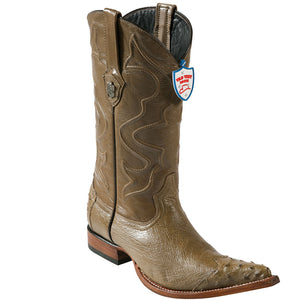 Smooth Ostrich 3X Toe Boot WWB-29504