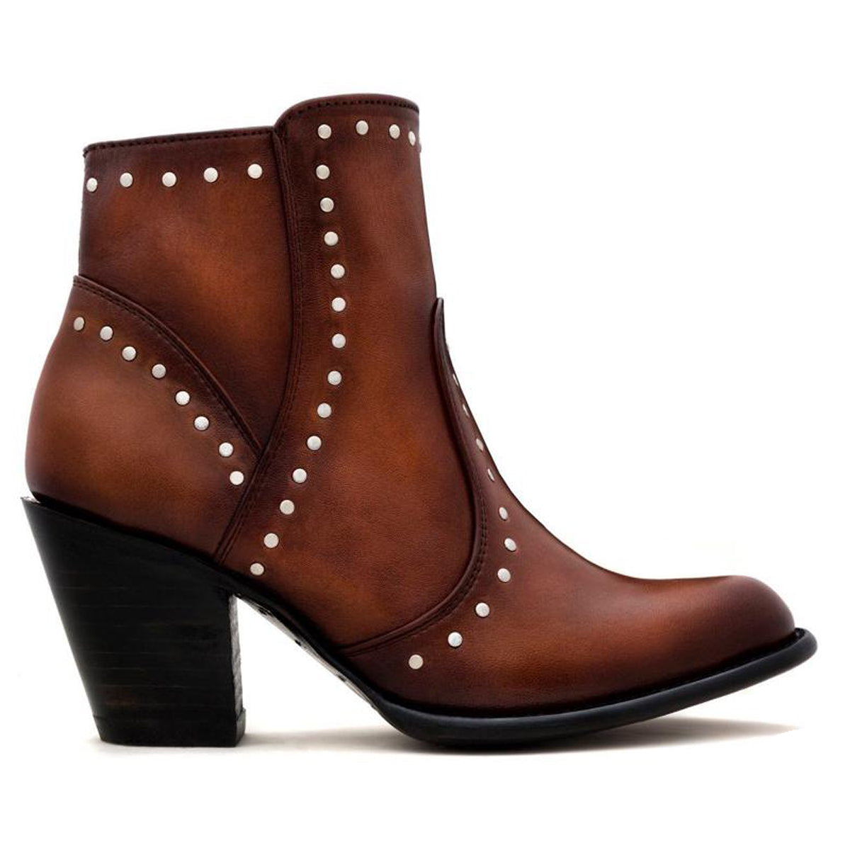 Sidney Caramel - Short Boot