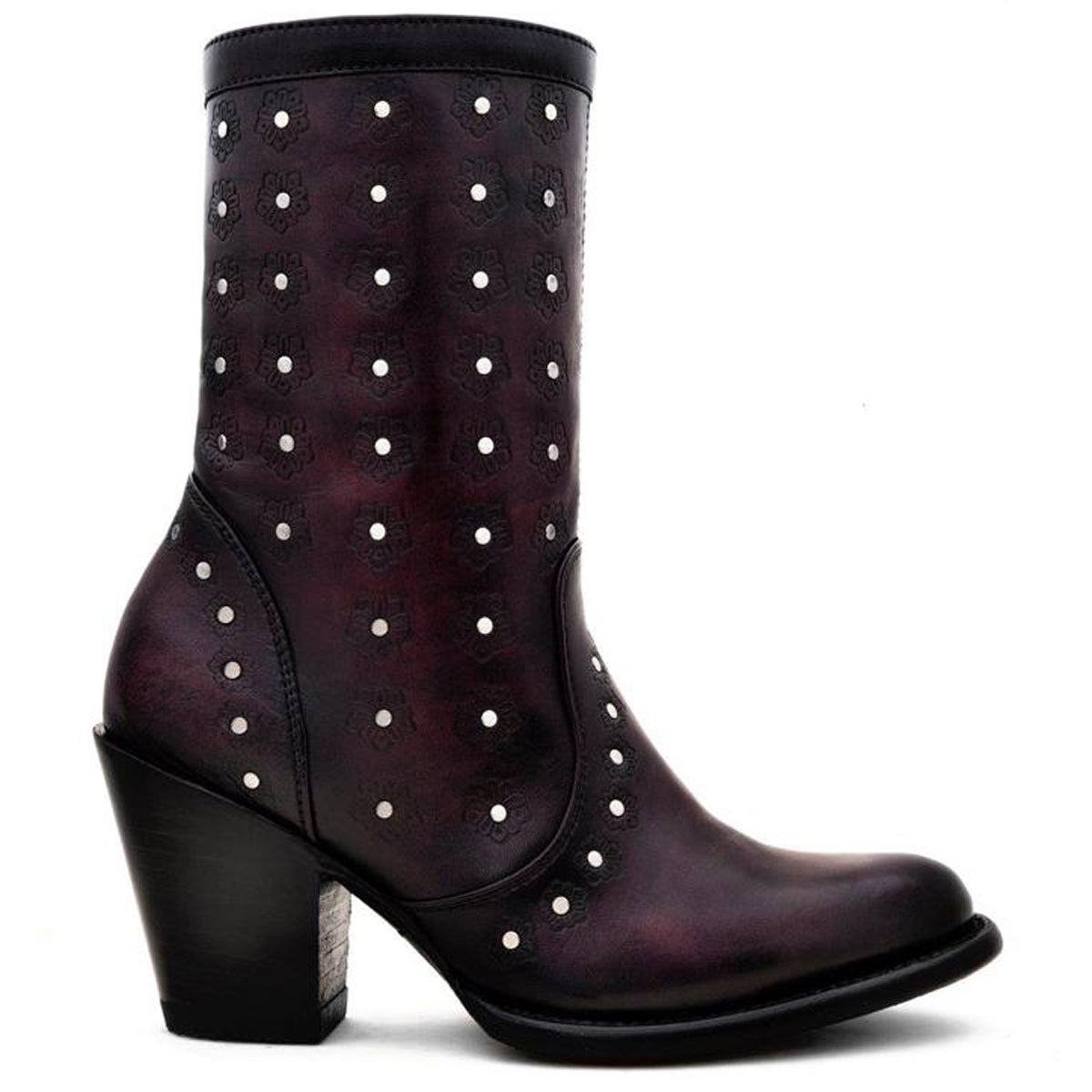Ania Burgundy - Short Boot