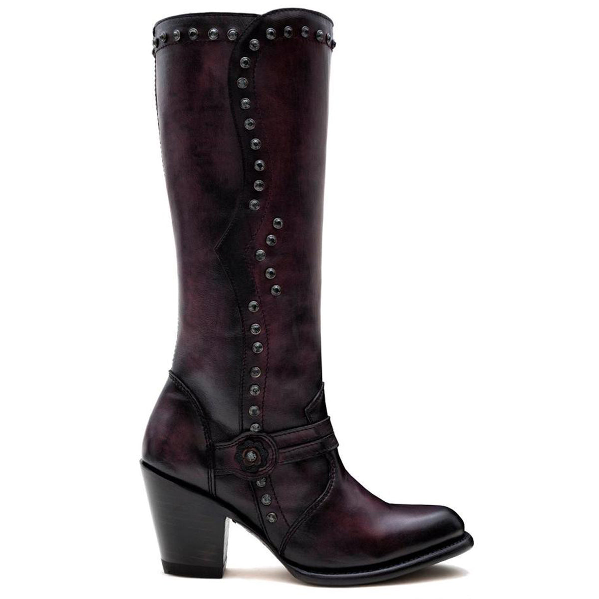 Denali Burgundy - High Boot