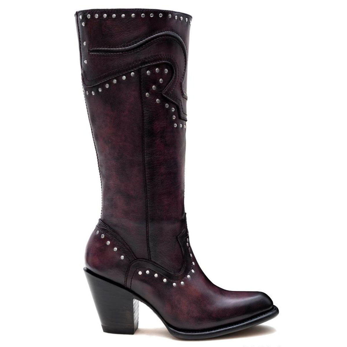 Piola Burgundy - High Boot