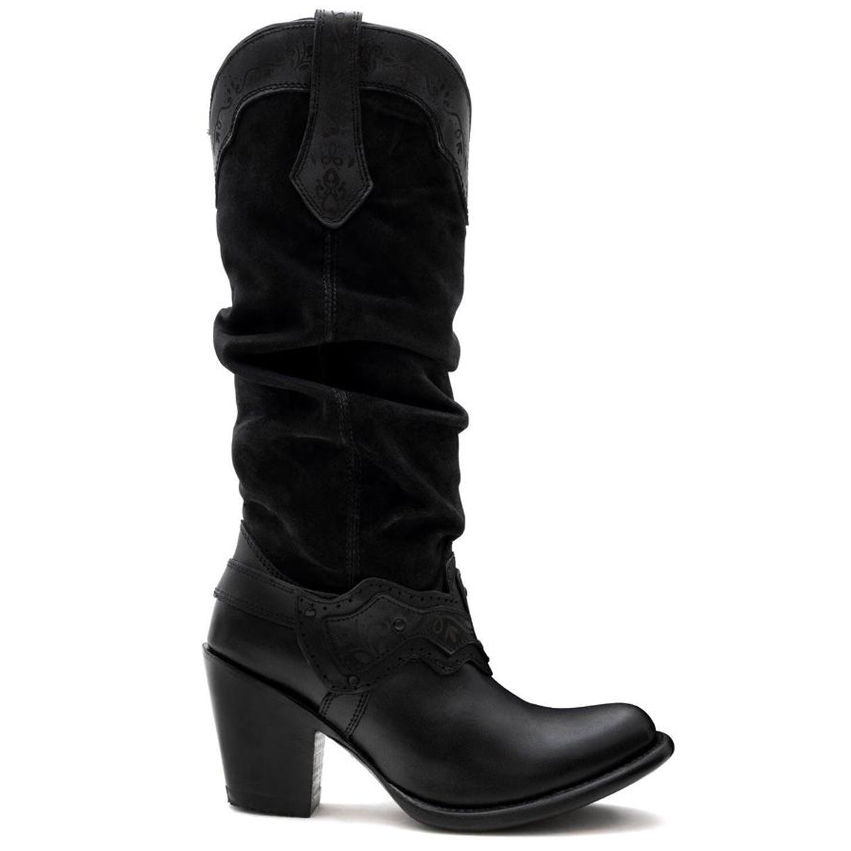 Sonora Black - High Boot