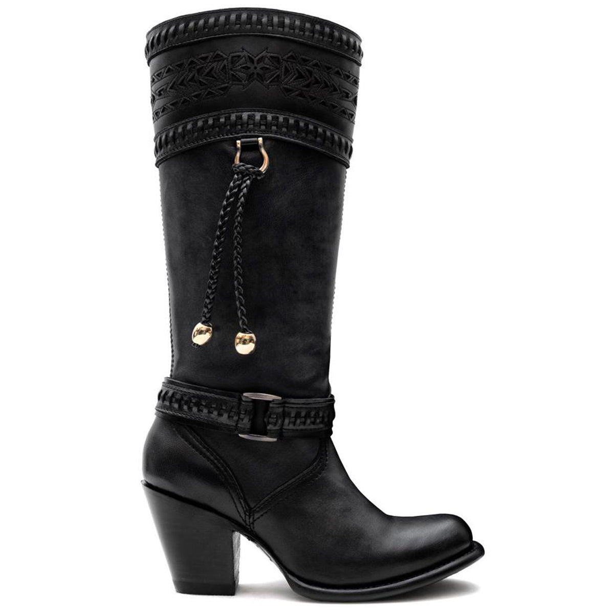 Tiffany Dark Grey - High Boot