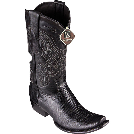 Lizard Skin Square Toe Boot KE-47907