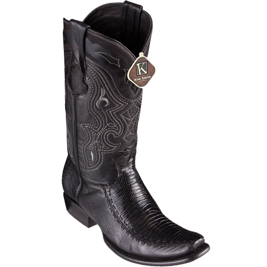 Lizard Skin Square Toe Boot KE-479F07