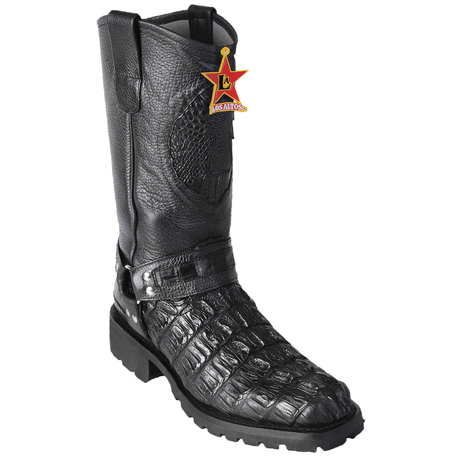 Caiman Tail SKin Biker Boot LAB-55T0105