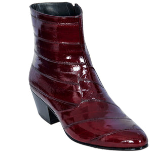 Eel Skin Short Boot LAB-6308