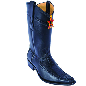 Ostrich Leg Square Toe Boot LAB-770505