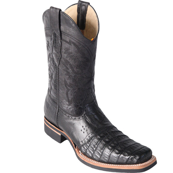Caiman Belly Rodeo Square Toe Boot LAB-81682