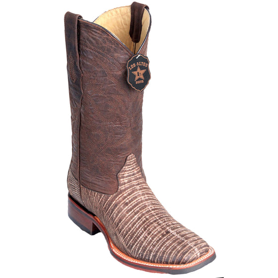 Lizard Skin Wide Square Toe Boot LAB-82607