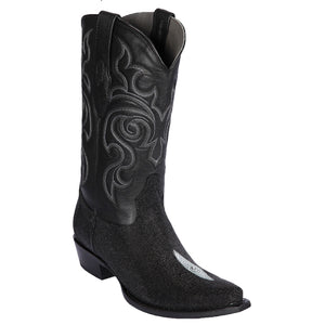 Original Single Pearl Stingray Skin Snip Toe Boot LAB-941205