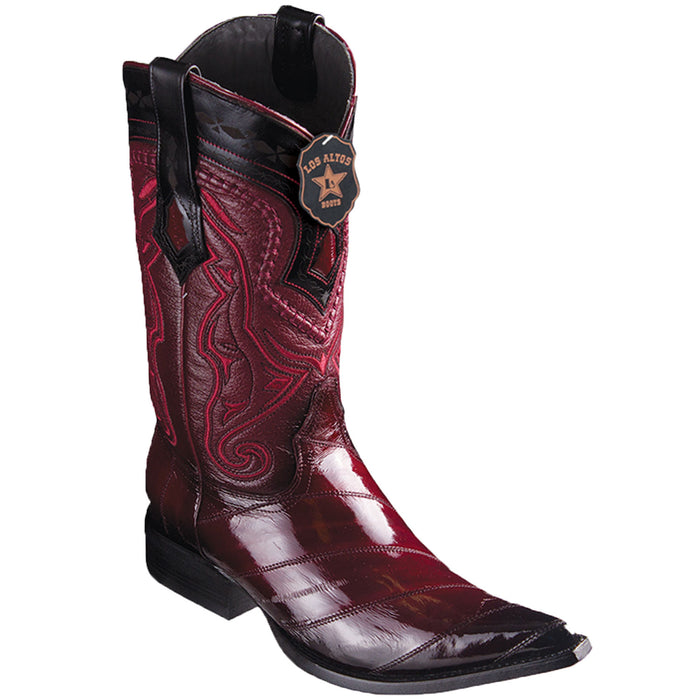 Men's Los Altos Eel Skin 3X Toe Boot