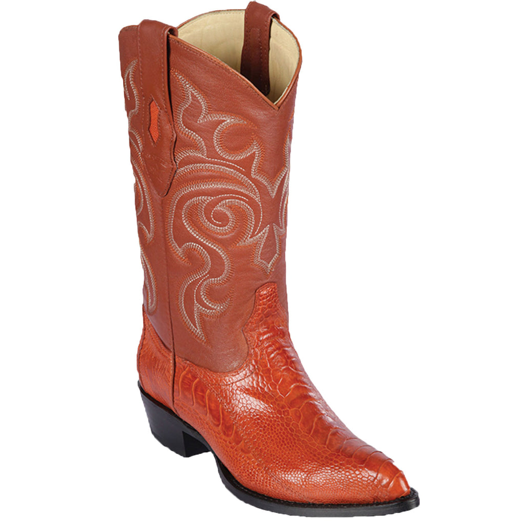 Ostrich Leg J Toe Boot LAB-990503