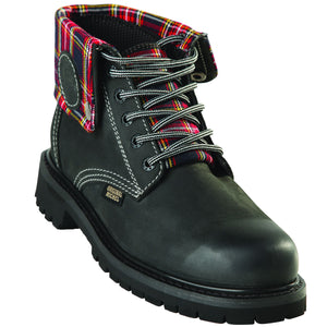 Short Crazy Horse Work Boot KE-596209