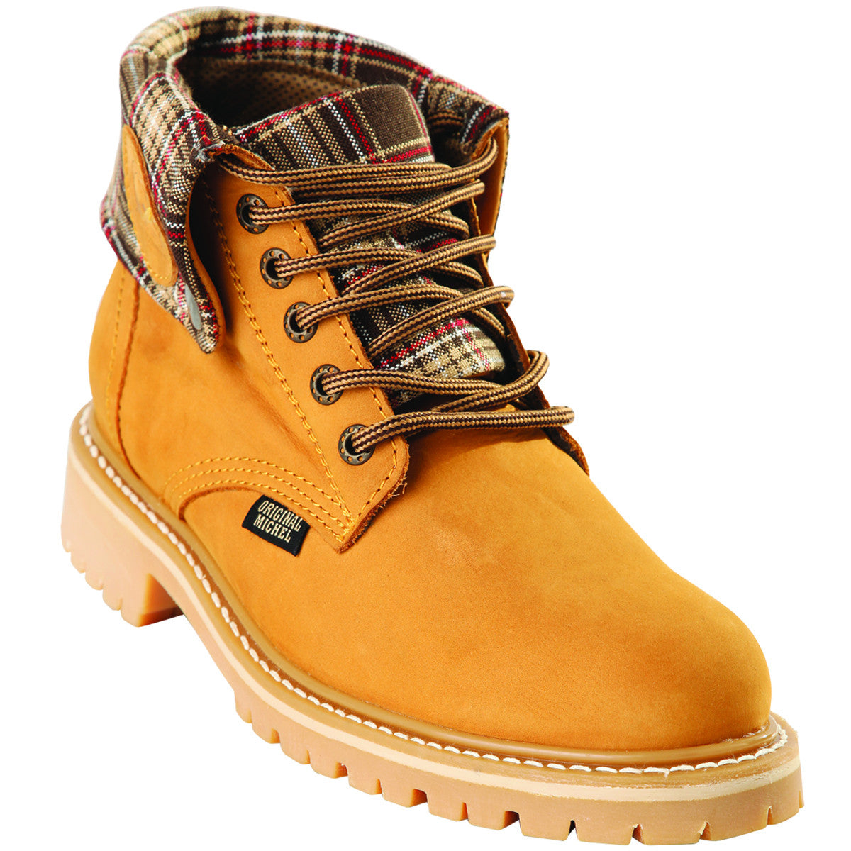 Short Nubuck Work Boot KE-596302