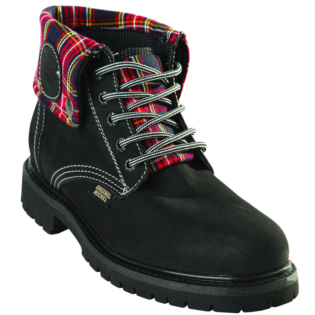 Short Nubuck Work Boot KE-596305