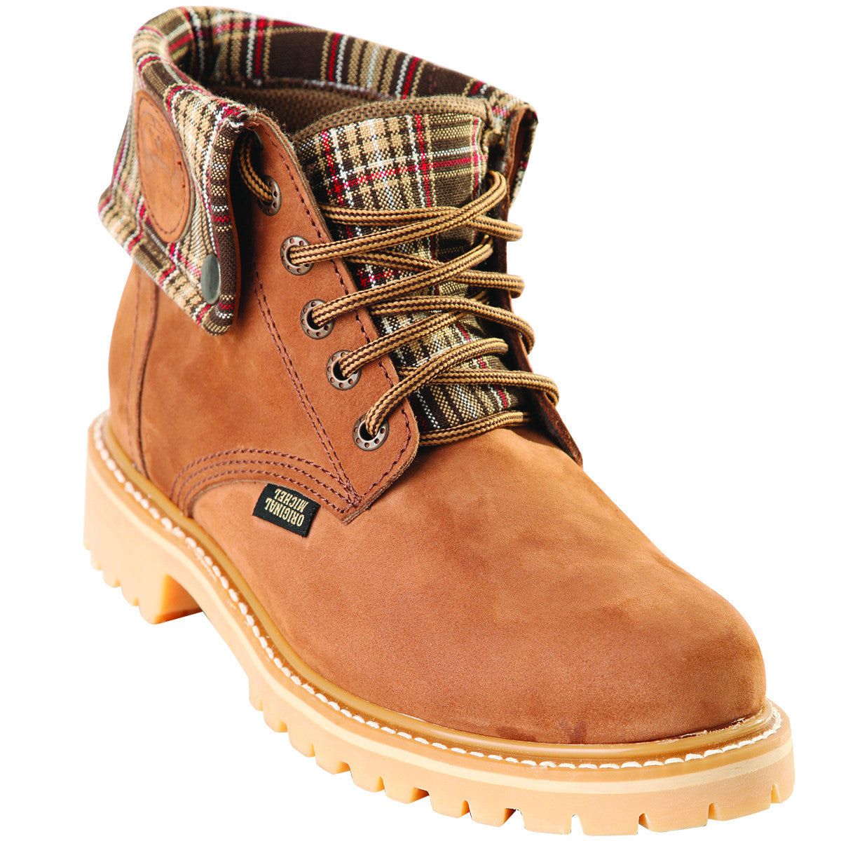 Short Nubuck Work Boot KE-596307
