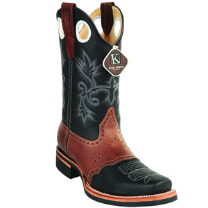 Rodeo Square Toe Leather Boot KE-81127