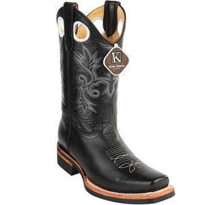 Cowhide Leather Rodeo Toe Boot KE-81527