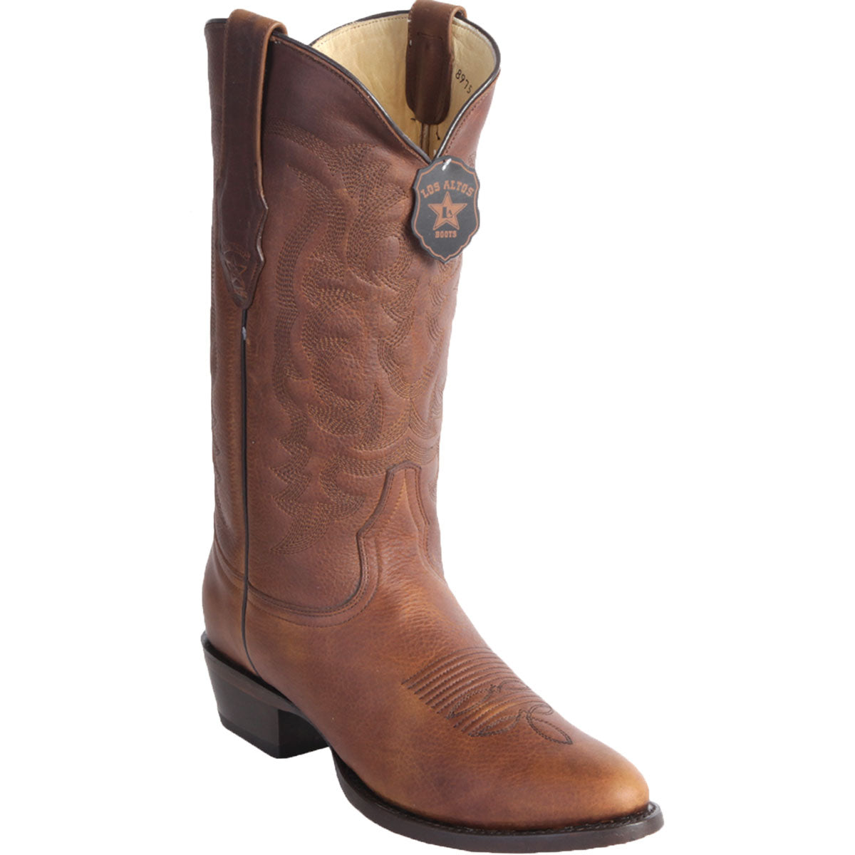 Round Toe Leather Boot LAB-6599