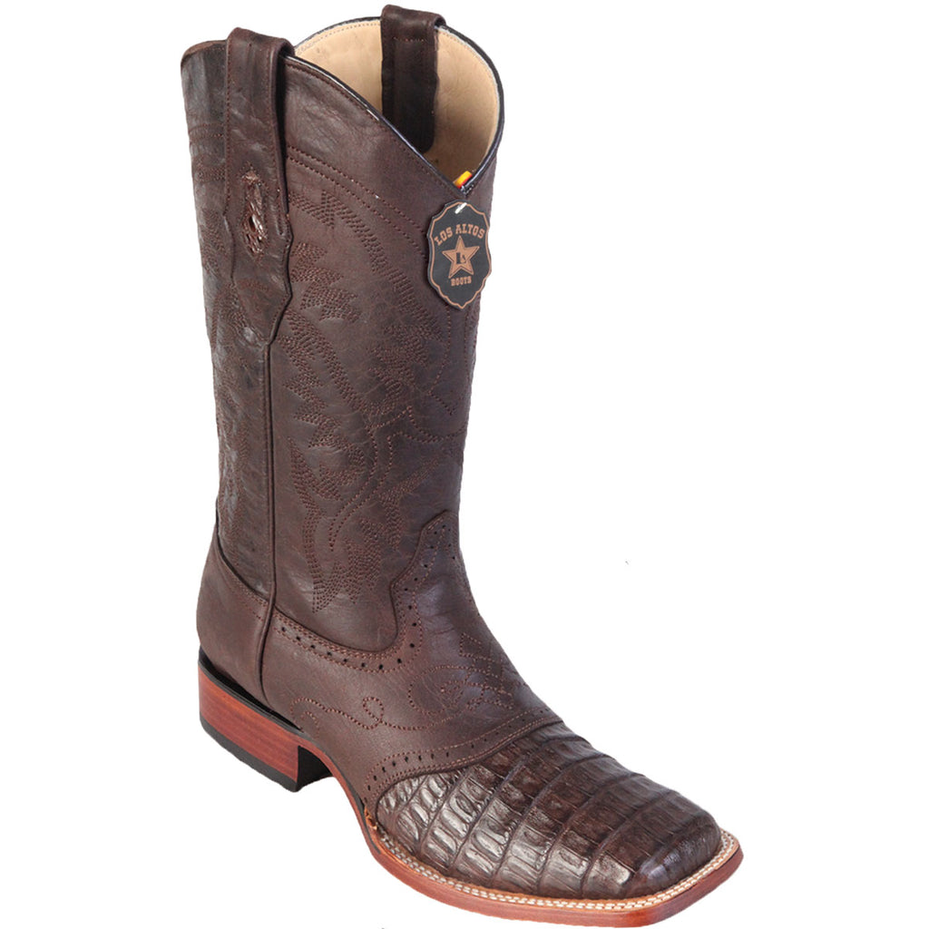 Gator Belly Wide Square Toe Boot LAB-82182