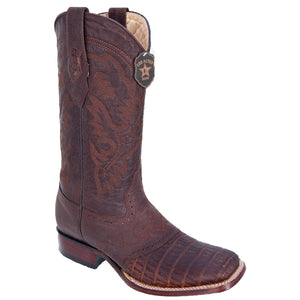 Gator Belly Wide Square Toe Boot LAB-821G82