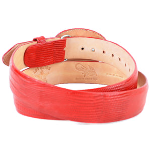 Lizard Cowboy Belt LAB-C110712