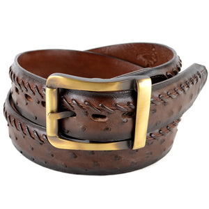 Ostrich Dress Belt LAB-C230307