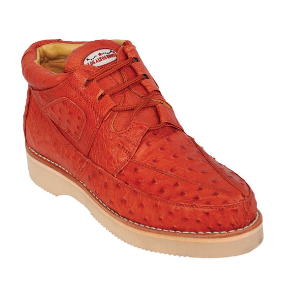 Ostrich Skin Casual Shoe LAB-ZA0603