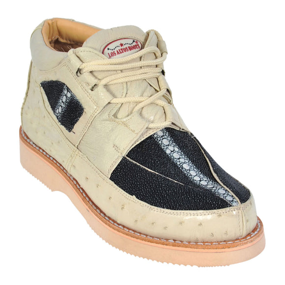 Stingray and Ostrich Casual Shoe LAB-ZA1011