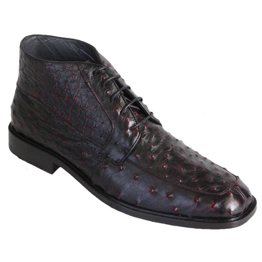Ostrich Skin High Top Shoe LAB-ZA30603