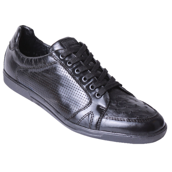 Original Ostrich Skin Casual Shoes LAB-ZC1103