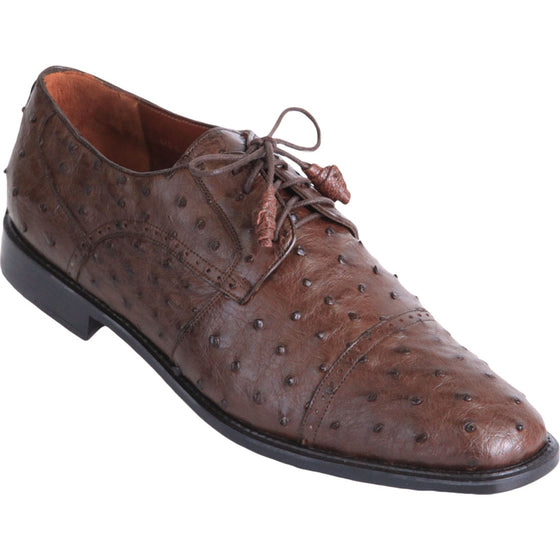 Ostrich Skin Dress Shoe LAB-ZV0903