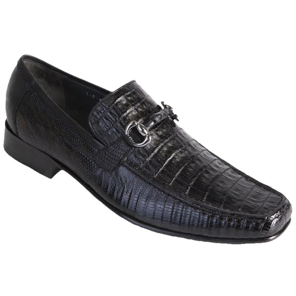 Gator with Lizar Skin Dress Shoe LAB-ZV1037