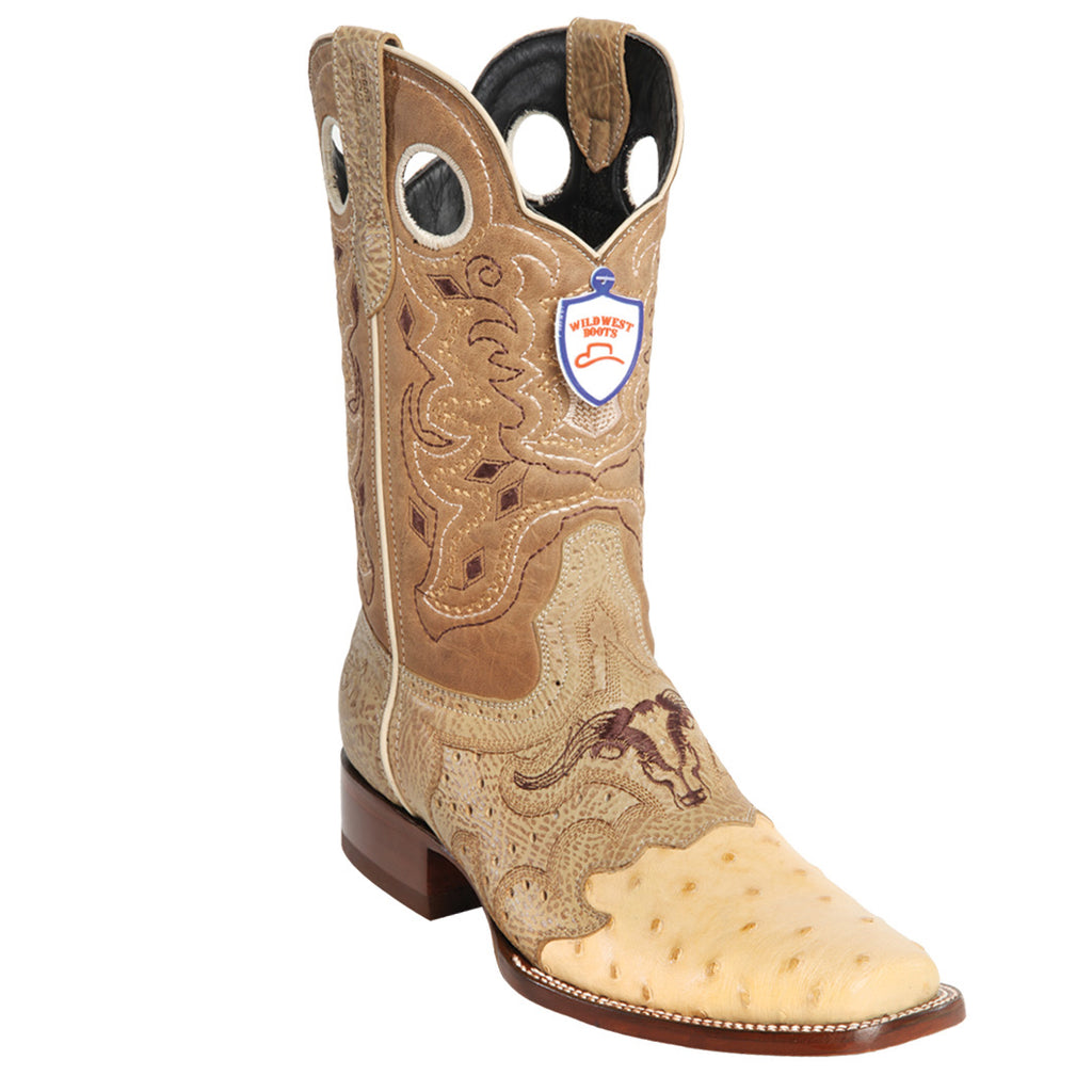 Ostrich Wild Rodeo Toe Boot WWB-281TC03