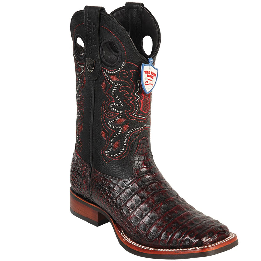 Caiman Belly Wild Ranch Toe Boot WWB-282582